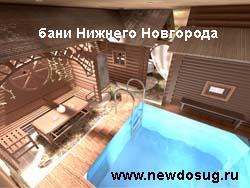 бани Нижнего Новгорода