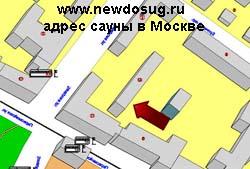 адрес сауны в Москве
